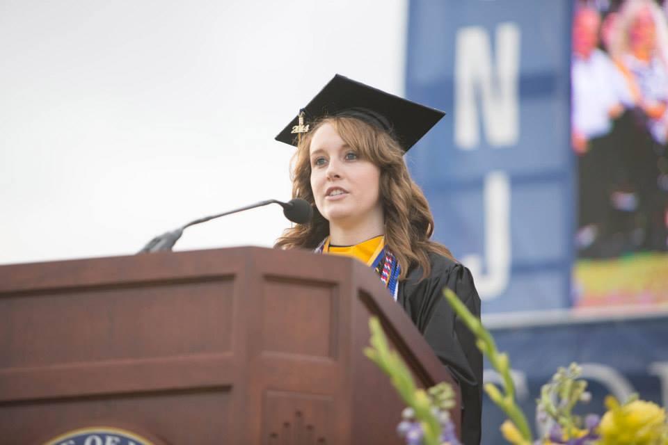 Grace Moran '14, Class President
