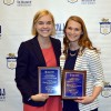 Business students inducted into Blue & Gold Hall of Fame