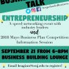 Entrepreneurship and 2018 Mayo Business Plan Competition Event!